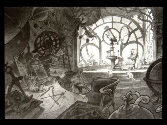 Rapprochement Walt Disney / Arts Déco 1925 Enchan12