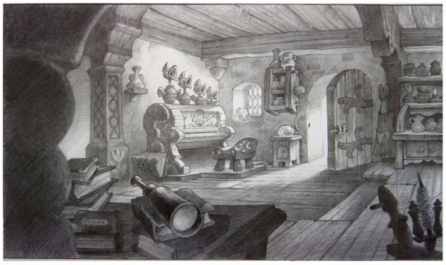 Rapprochement Walt Disney / Arts Déco 1925 Enchan13