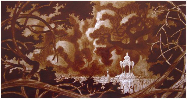Rapprochement Walt Disney / Arts Déco 1925 Enchan17