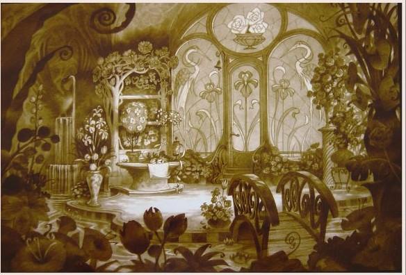 Rapprochement Walt Disney / Arts Déco 1925 Enchan18