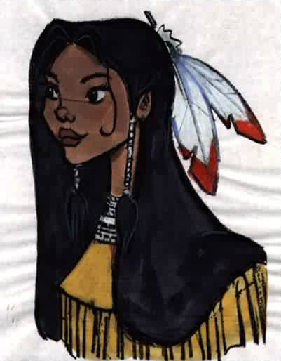 Pocahontas, une Légende Indienne [Walt Disney - 1995] Pdvd_083