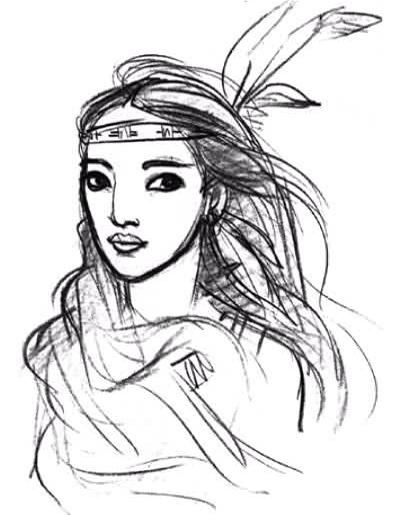Pocahontas, une Légende Indienne [Walt Disney - 1995] Pdvd_110