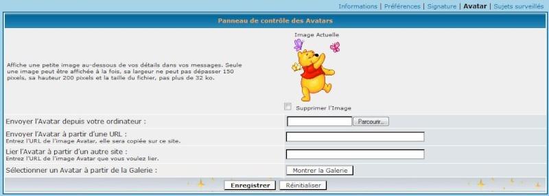 Concernant les avatars et signatures Avatar11