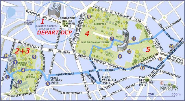 Meeting à Bruxelles 4 et 5 août 2007 Etape310