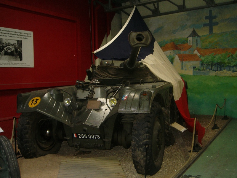 Le musée des blindés de Saumur Dsci0010