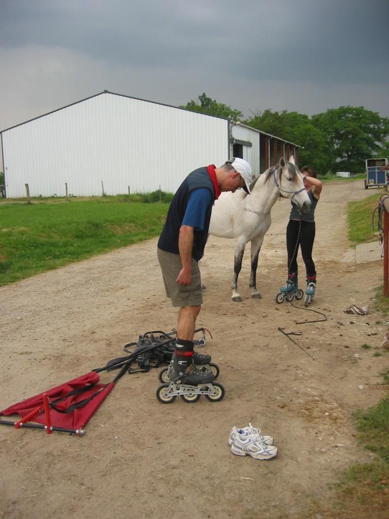 28/04/2007, premier essai de traction (Rollerblade coyotes) 329_4210