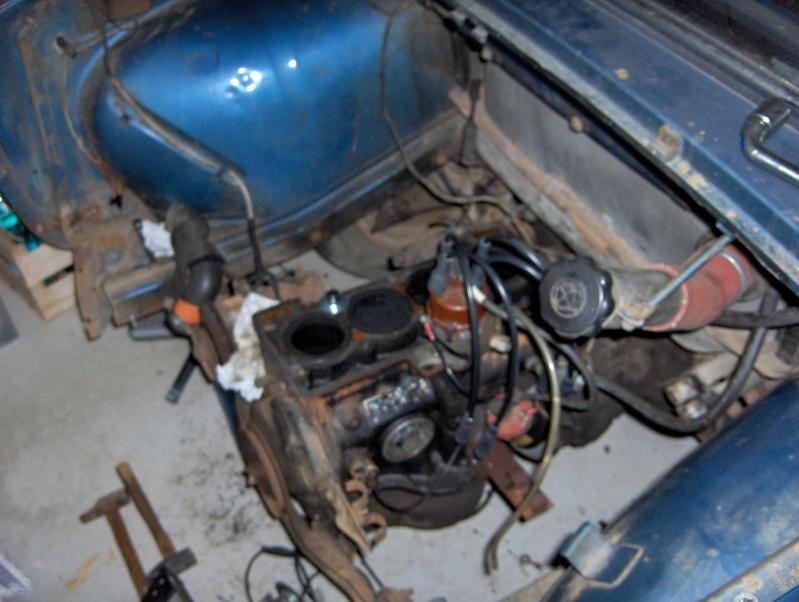restauration renault 8 Renaul12