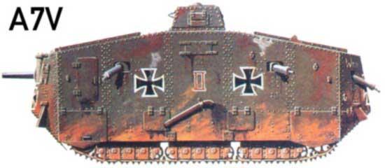 Tanques Alemanes A7v10