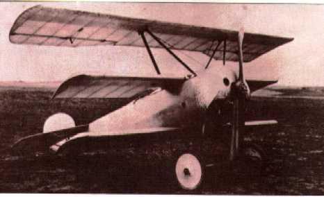 El Fokker triplano Fokker12