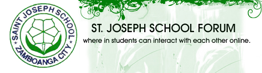 ST. JOSEPH SCHOOL FORUM