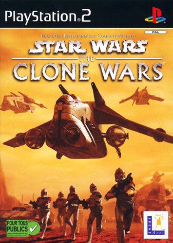 PS2 - Star Wars : The Clone Wars 00710