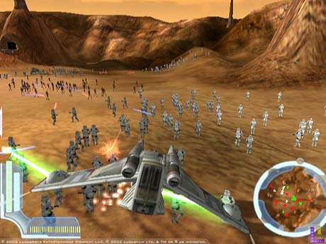 PS2 - Star Wars : The Clone Wars Clonew11