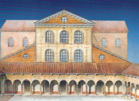 How did a St Peter's basilica looks before 1506 Sv_pet11