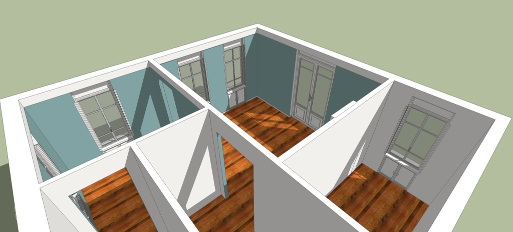 SketchUp'eur architecte -AnthO'- - Page 18 Maison10