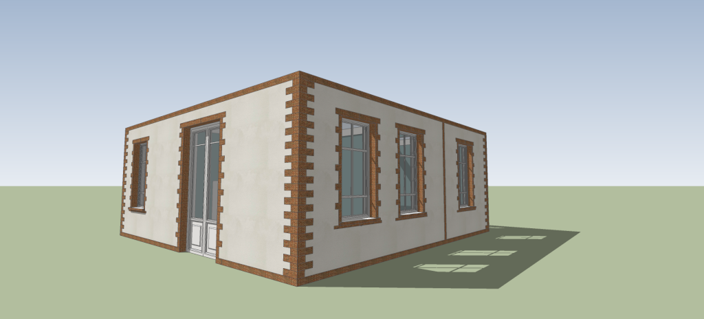 SketchUp'eur architecte -AnthO'- - Page 18 Maison14