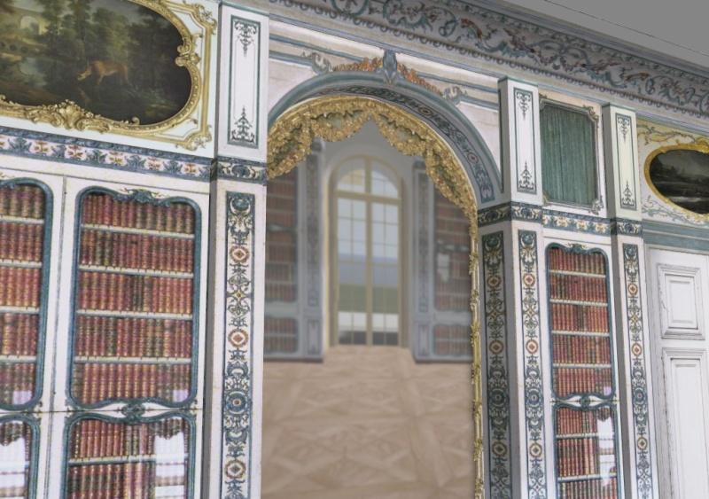 Si Versailles m'était pixelisé Snaps101