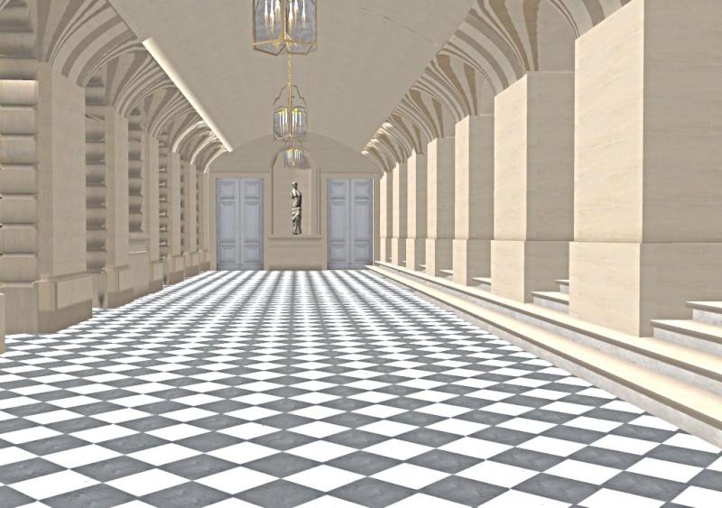 Si Versailles m'était pixelisé Snaps116