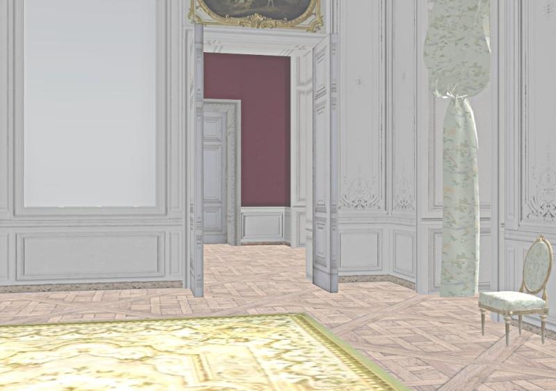 Si Versailles m'était pixelisé Snaps123