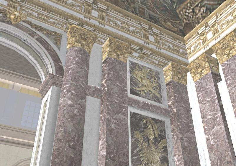 Si Versailles m'était pixelisé Snaps135