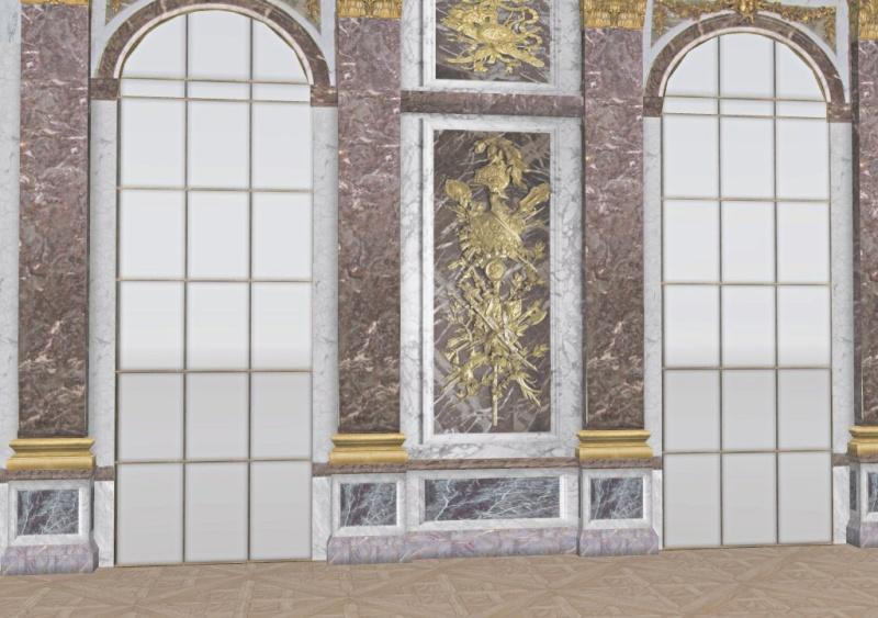 Si Versailles m'était pixelisé Snaps136