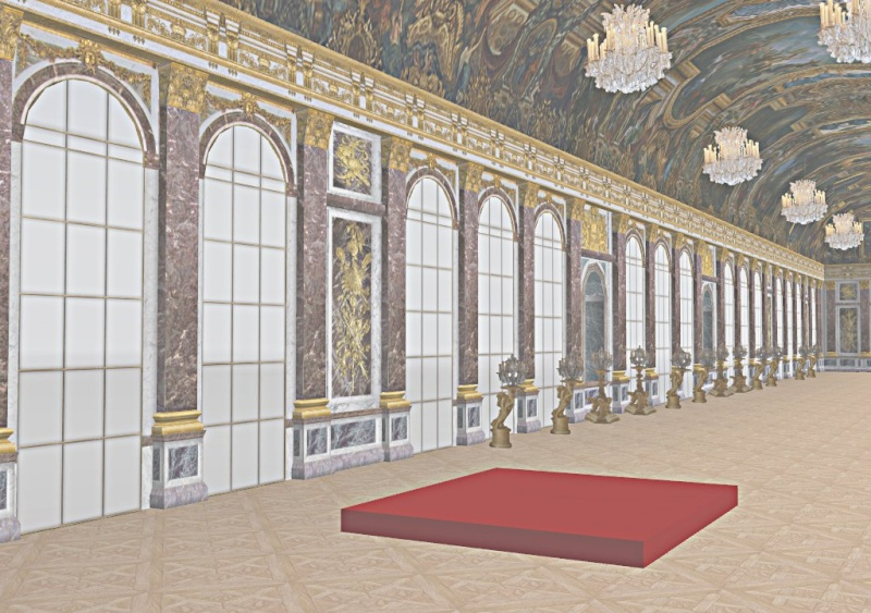Si Versailles m'était pixelisé Snaps138