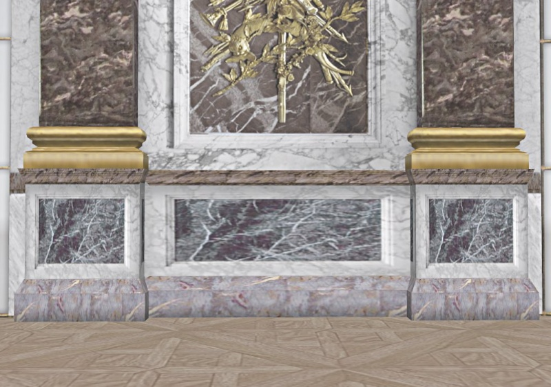 Si Versailles m'était pixelisé Snaps139
