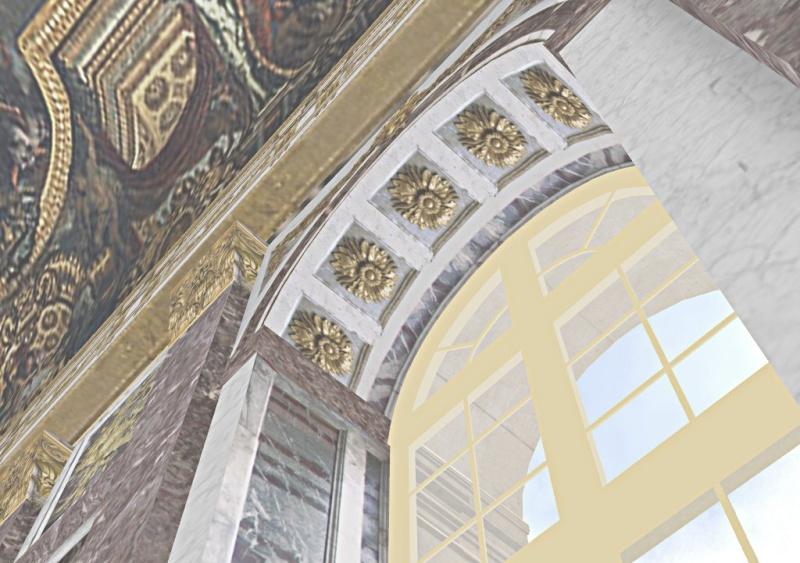 Si Versailles m'était pixelisé Snaps146