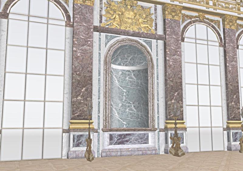 Si Versailles m'était pixelisé Snaps148