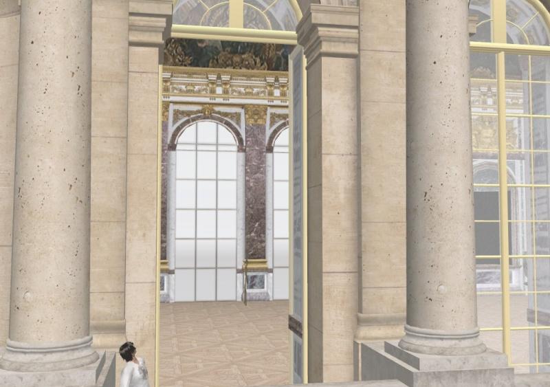 Si Versailles m'était pixelisé Snaps150