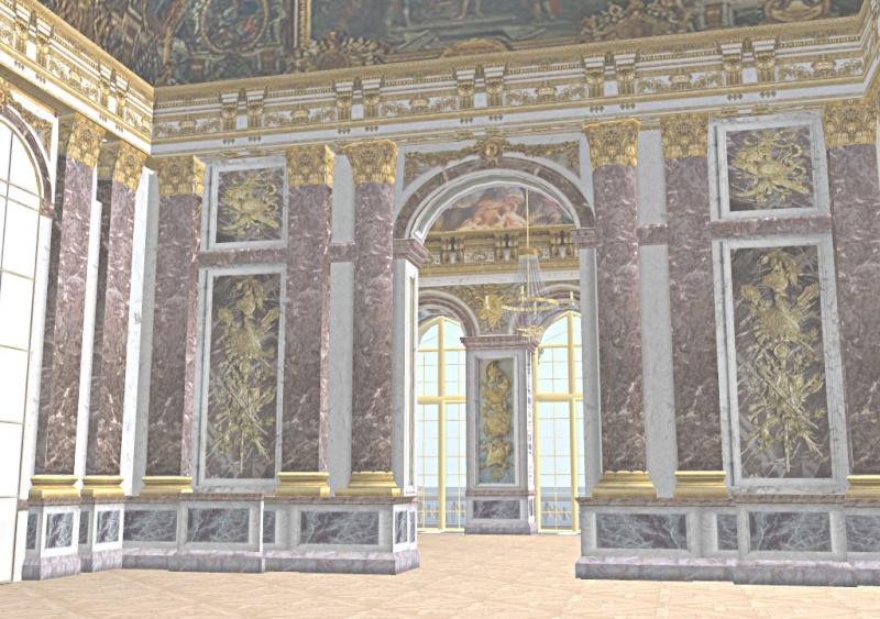 Si Versailles m'était pixelisé Snaps157
