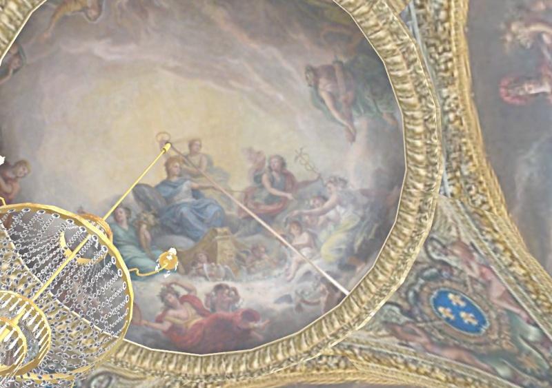 Si Versailles m'était pixelisé Snaps158