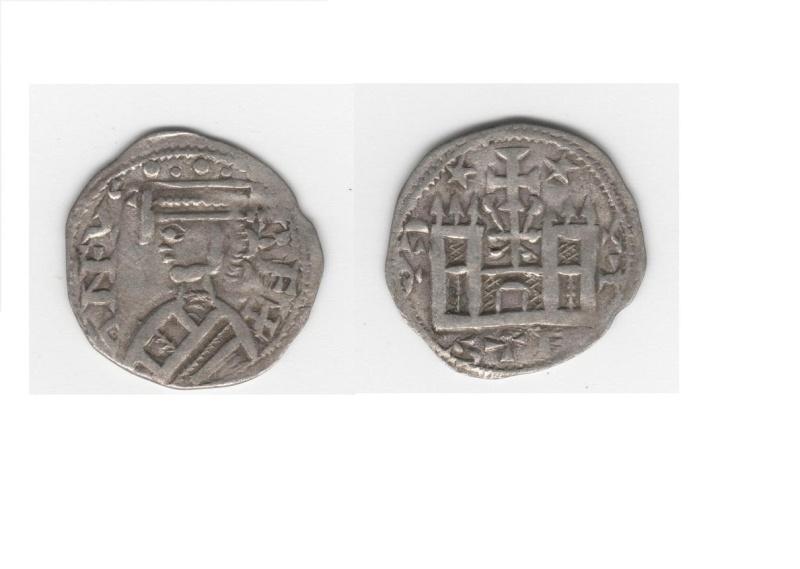 Dinero burgalés de Alfonso VIII Alfons10