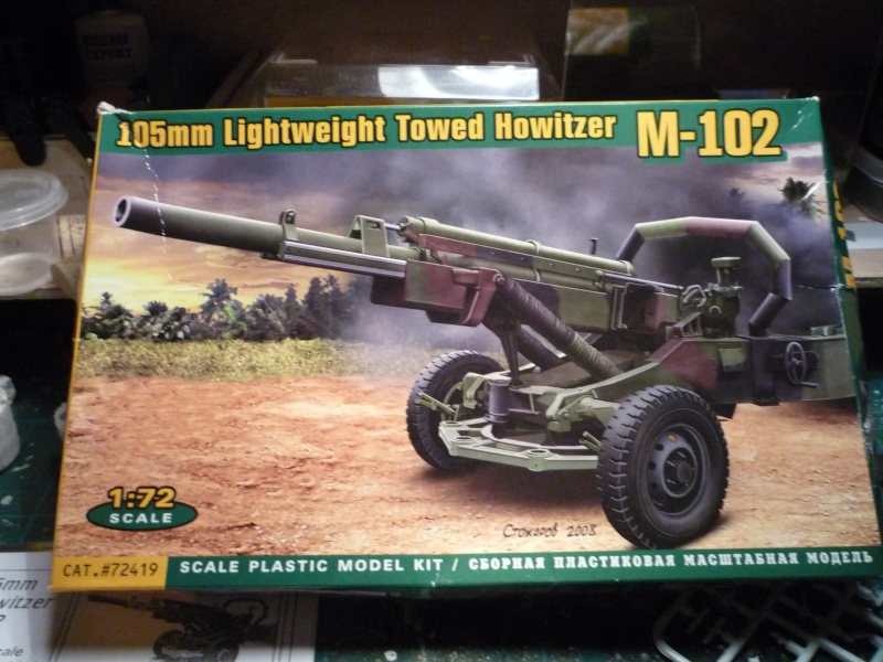 US 105mm Towed Howitzer M-102 1/72 ACE P1070848