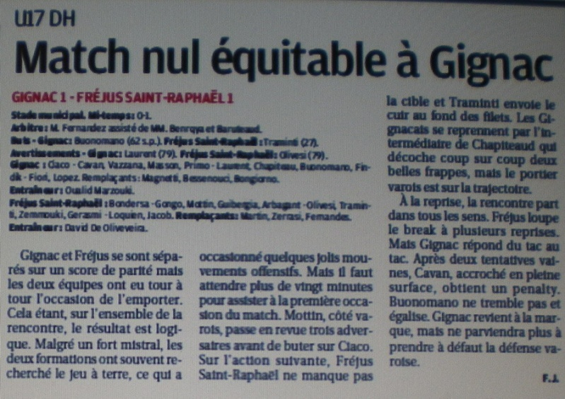 AS GIGNAC LA NERTHE //  DHR MEDITERRANEE  PROVENCE  Imgp2024