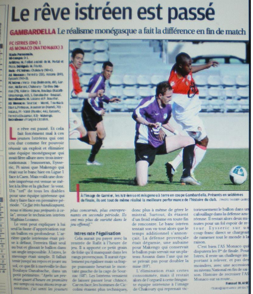FC ISTRES B  // DHR  MEDITERRANEE  et AUTRES JEUNES  - Page 2 Imgp4410