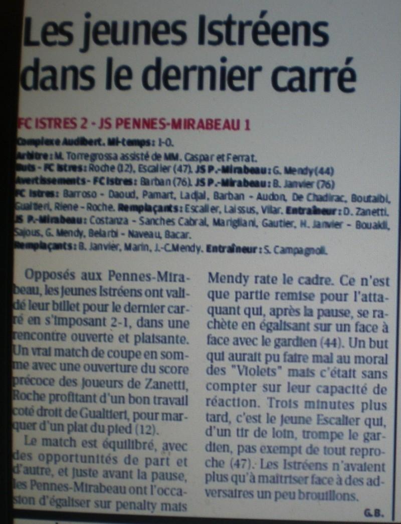 FC ISTRES B  // DHR  MEDITERRANEE  et AUTRES JEUNES  - Page 2 Imgp5828
