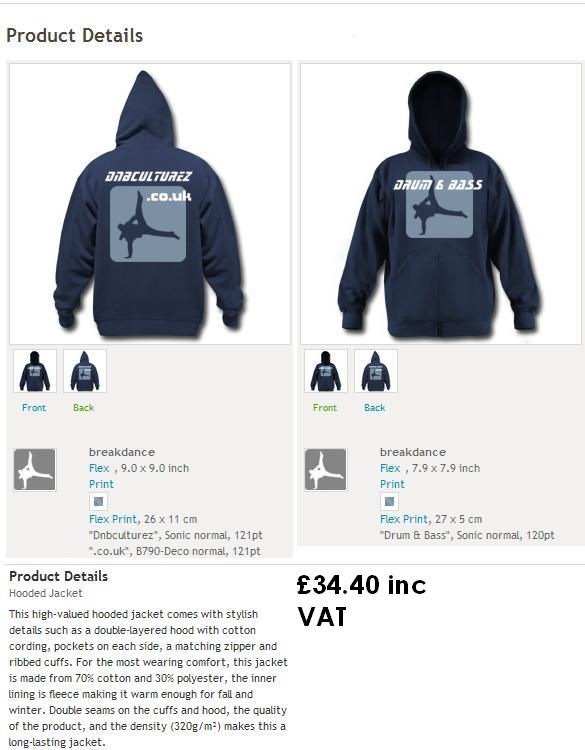 Hooded Tops Blue_h10