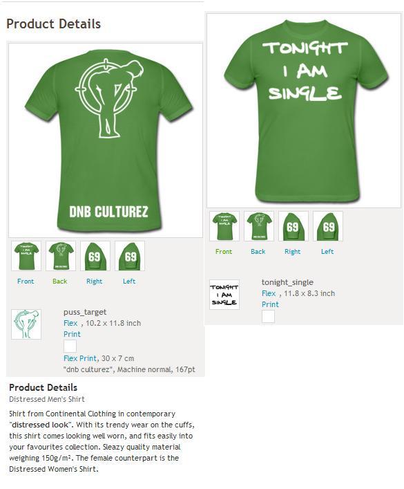 Mens T-shirts Green_11