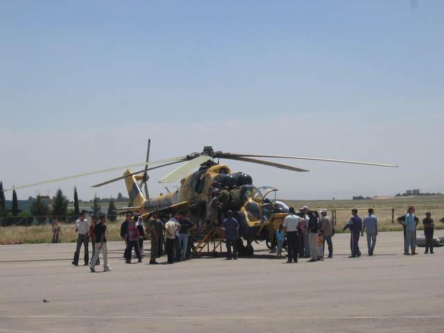 المروحية MI-24 MK3 Super hind الجزائرية 70518310