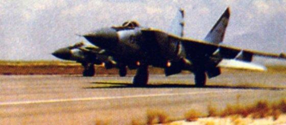 الطائرة المقاتلة (الاستطلاع / الاعتراض) Mig - 25 Mig25011