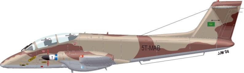 Armée Mauritanienne Pucara10