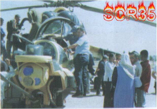المروحية MI-24 MK3 Super hind الجزائرية Swscan15