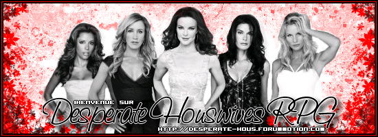 Desperate Housewives at Wisteria Lane !