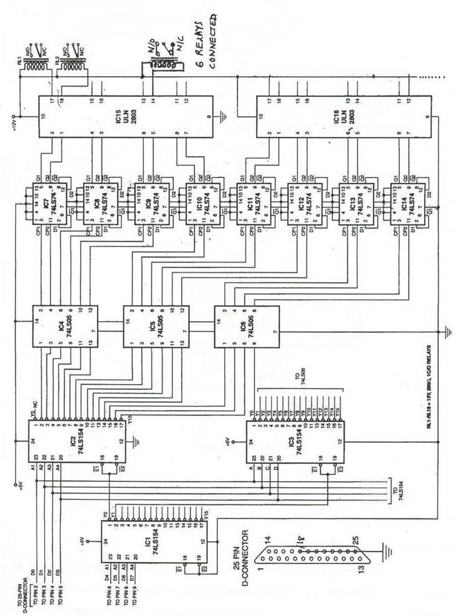 Device Switching Using PC's  Parallel Port Image011