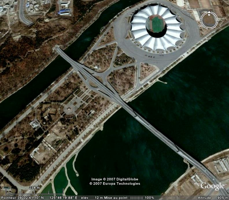 Les ponts du monde avec Google Earth - Page 8 Coree10