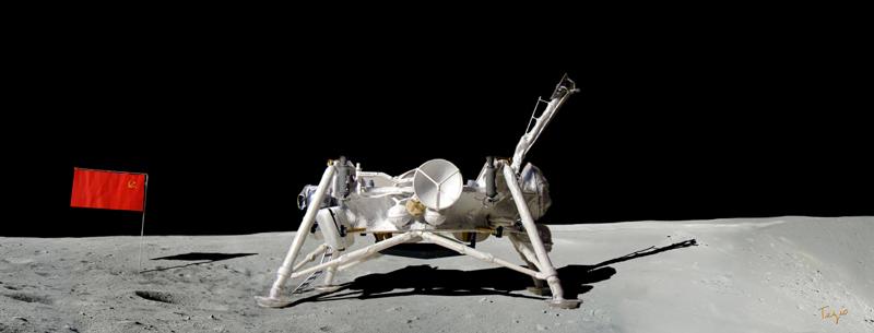 Module lunaire soviétique LK – Maquette 1/24ème - Page 12 Lk_dep10
