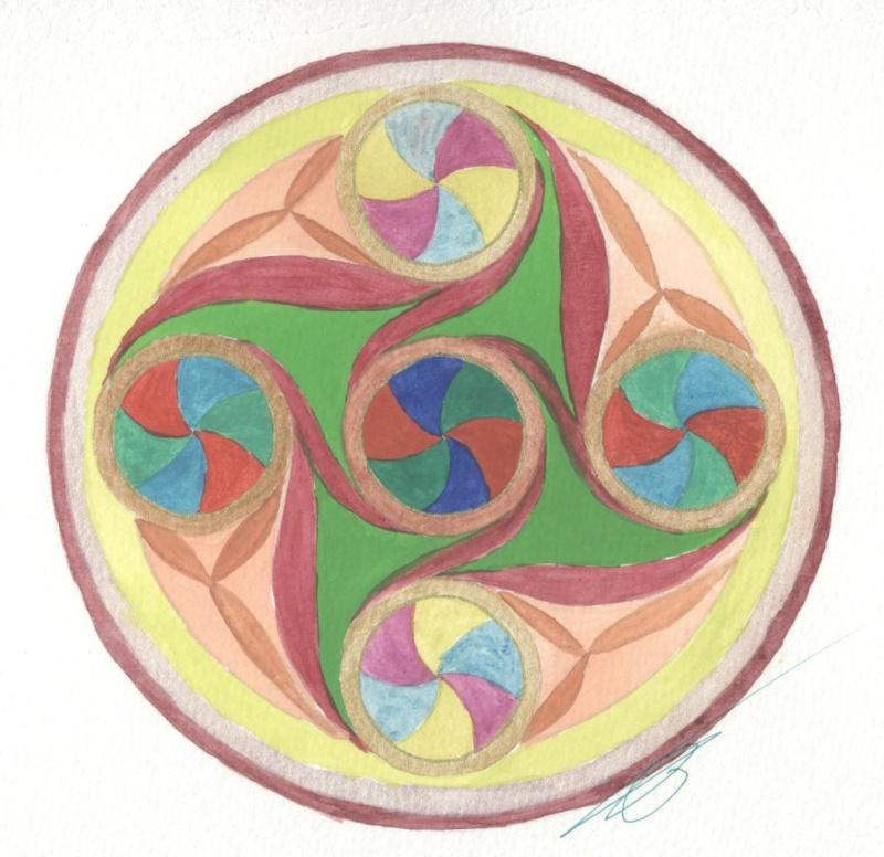 J'aime les entrelacs et autres dessins celtiques - Page 10 Spiral10