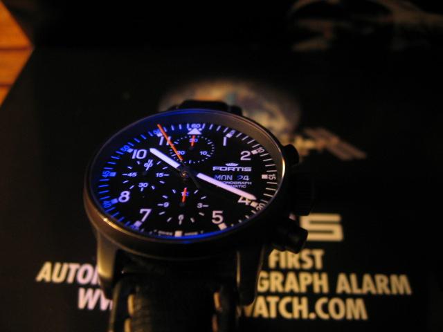 bonjour a tous je vous montre une fortis pilot pro ! 02210