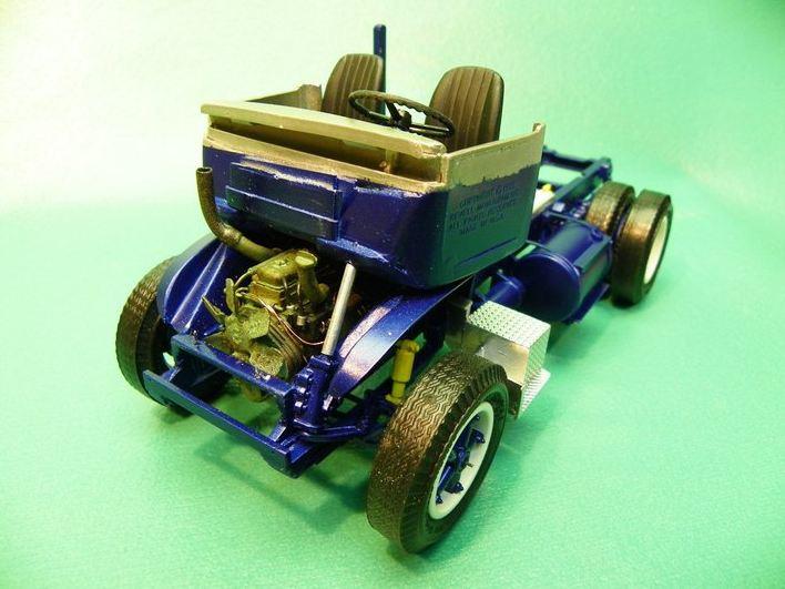 "Golden Age GMC 55 model 860 ""Cannonball"" Par Jeff Harper 1410"
