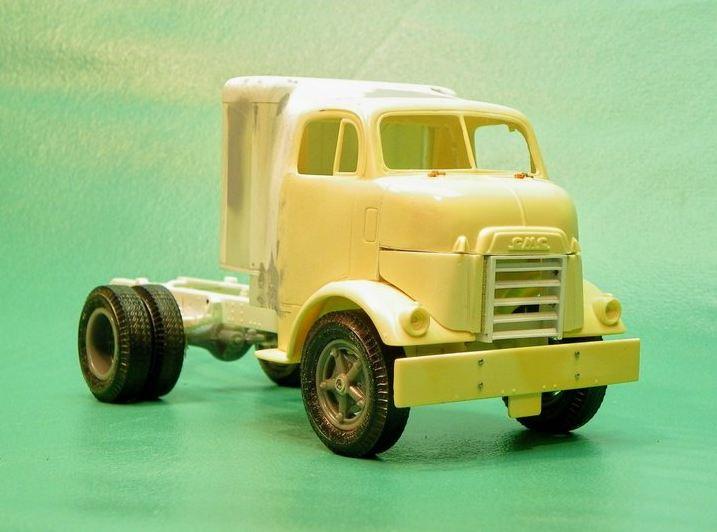 "Golden Age GMC 55 model 860 ""Cannonball"" Par Jeff Harper 411"